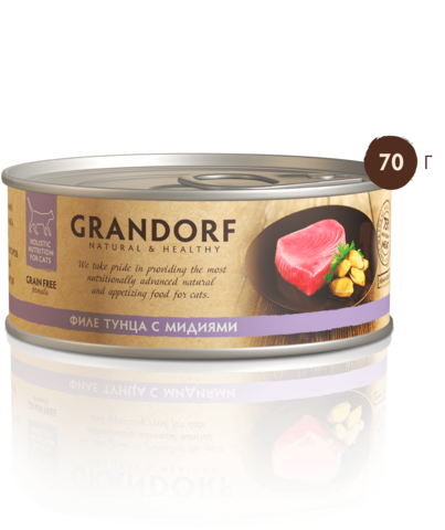 Консервы Grandorf Tuna with Mussel in Broth