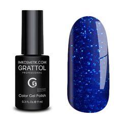 Grattol, Гель-лак Luxury Stones № 003, Diamond, 9 мл