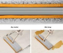 швабра для мытья пола со сменными насадками switch n clean изображение