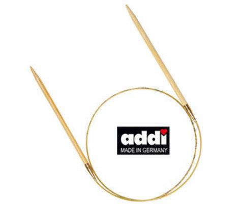 Спицы бамбук круговые Addi №6,  100 см     арт.555-7/6-100