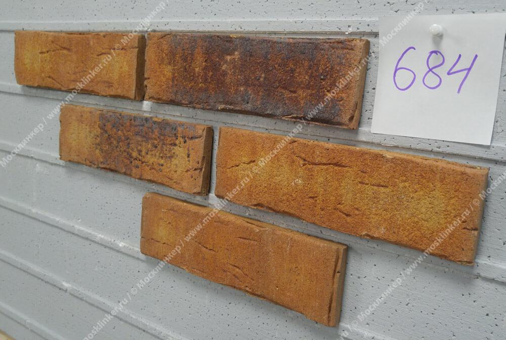 Feldhaus Klinker - R684NF14, Sintra Nolani Ocasa, 240x14x71 - Клинкерная плитка для фасада и внутренней отделки