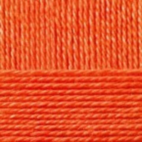 Купить Пряжа Пехорка Кроссбред Бразилии Код цвета 189-Яркооранжевый | Интернет-магазин пряжи «Пряха»