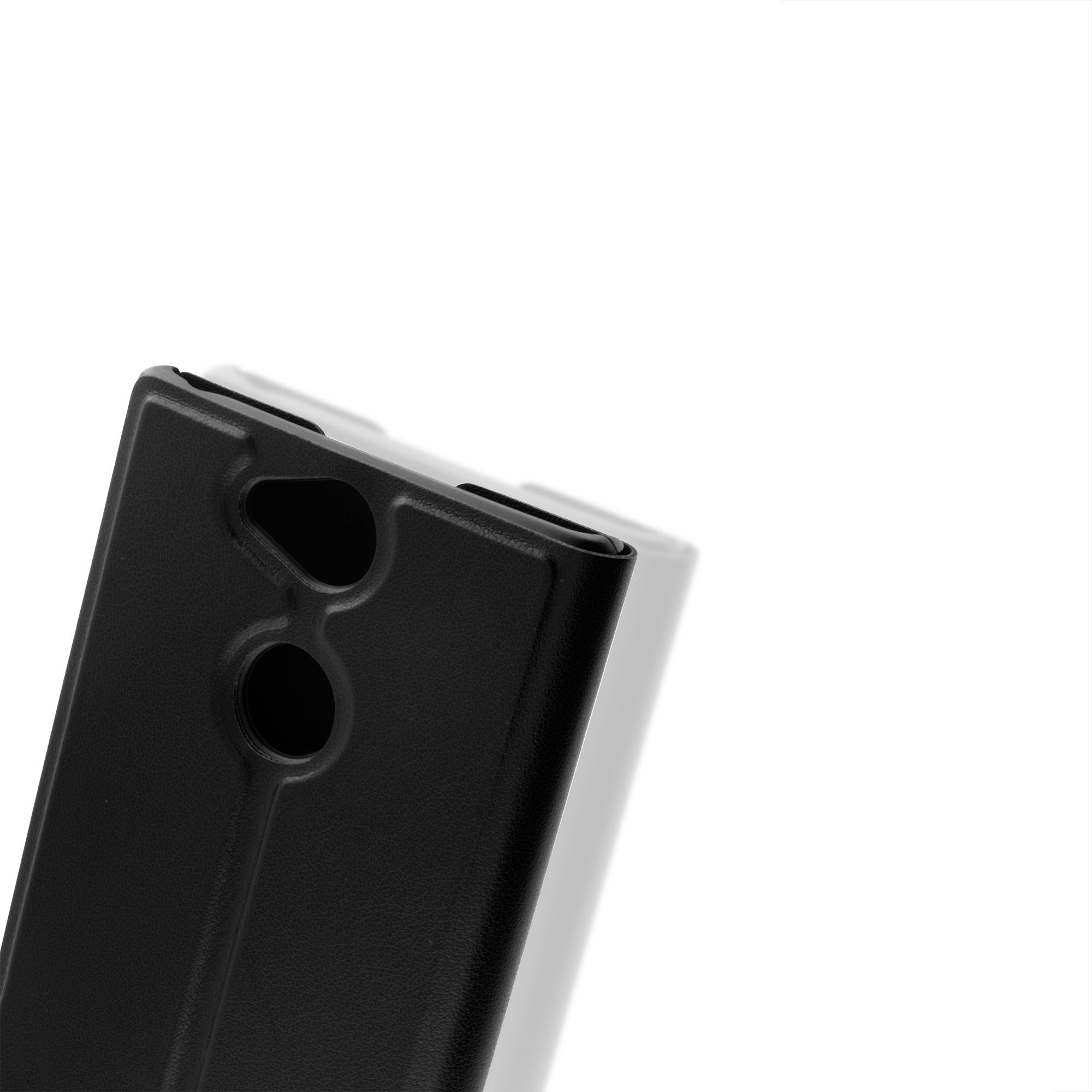 Чехол-книжка для Xperia XA2 чёрного цвета в Sony Centre Воронеж
