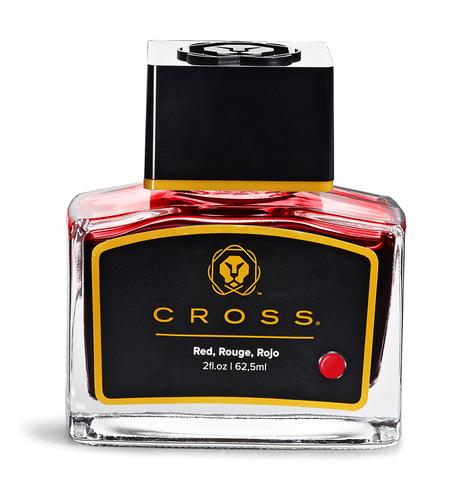 Cross Чернила (флакон), красный, 62,5 мл
