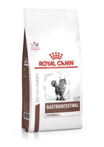 Royal Canin Gastro Intestinal Hairball диетический корм для взрослых кошек 2 кг