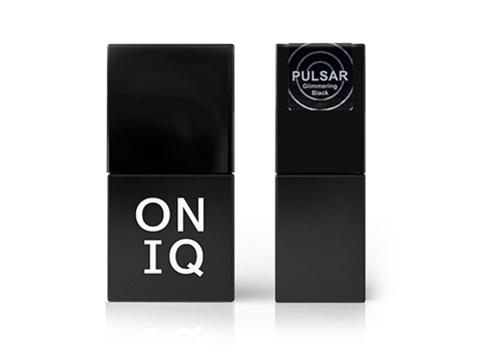 OGP-157 Гель-лак для покрытия ногтей. Pulsar: Glimmering Black