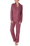 Клетчатая фланелевая пижама Skiny