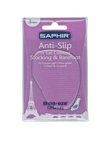 Полустельки  гелевые Saphir ANTI SLIP, 1/2 Semelles GEL