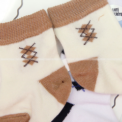 Носочки хлопок в коробке (3 шт) АП-21-131