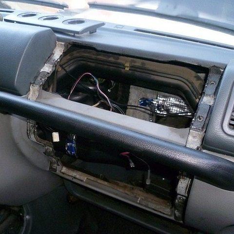 Замена моторчика печки УАЗ Патриот