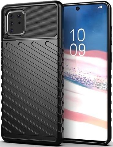 Чехол Samsung Galaxy A81 (M60S) цвет Black (черный), серия Onyx, Caseport