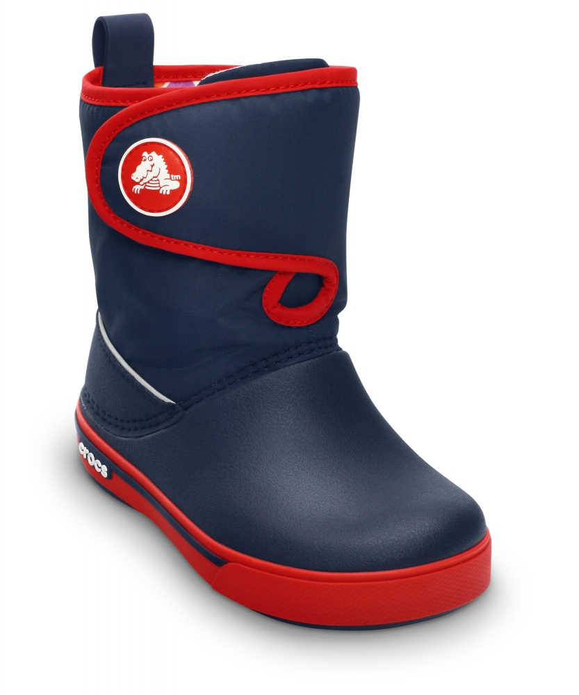 Фото Kids' Crocband™ II.5 Gust Boot Navy/Red