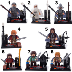 Minifigures Lord of The Rings Blocks Building