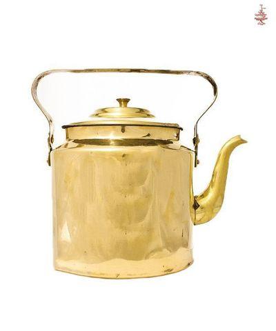 Чайник антикварный латунь