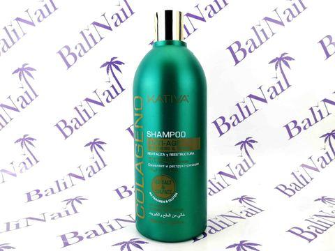 Kativa COLLAGENO Шампунь для волос коллагеновый, 500 мл