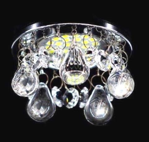 Светильник встраиваемый 3207-8C Хром
