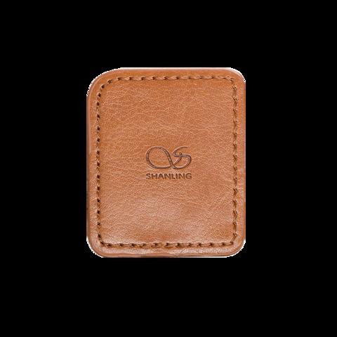 Shanling M0 Leather Case brown, чехол для плеера