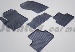 """Резиновые коврики """"Сетка"""" для Citroen C4 Aircross (2012-н.в.)"""