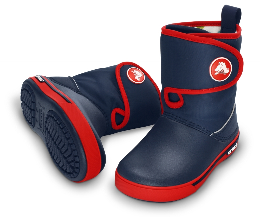 Фото кроксов Kids' Crocband™ II.5 Gust Boot Navy/Red
