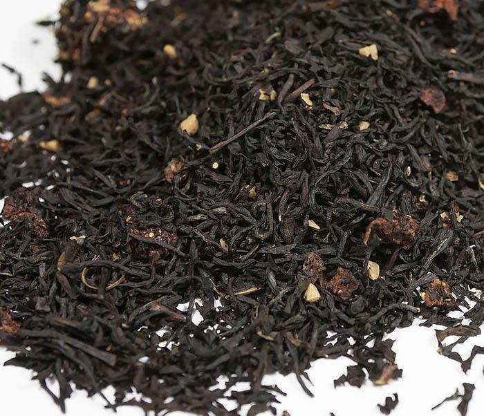 TEA-AR114 Черный ароматизированный чай «Земляника со Сливками» (50 гр) фото 03