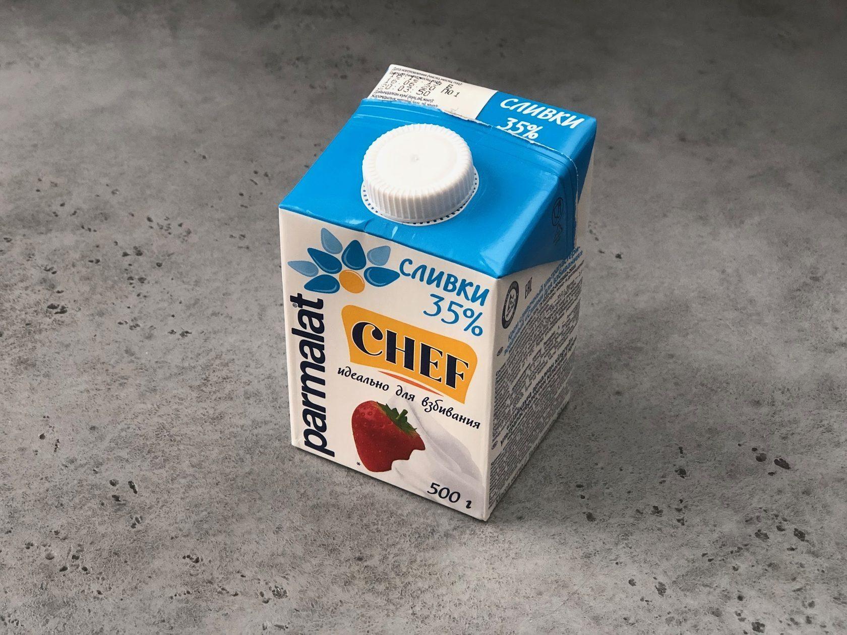 Сливки Parmalat 35%, 500 мл
