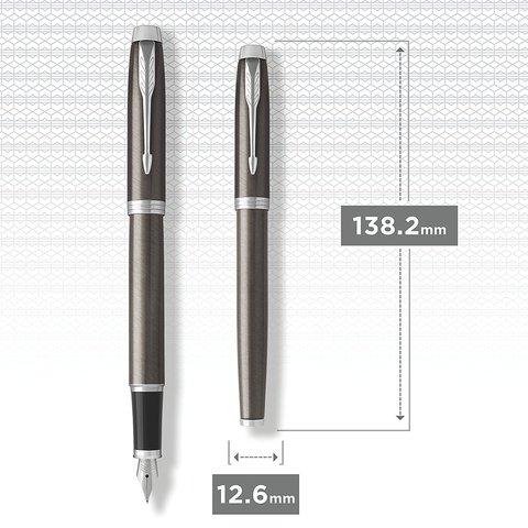 Перьевая ручка Parker IM Metal Core Dark Espresso CT123