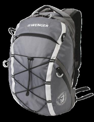 Рюкзак для активного отдыха Wenger серый/серебристый 25 л