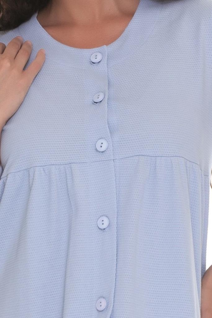 Женский халат на пуговицах B&B