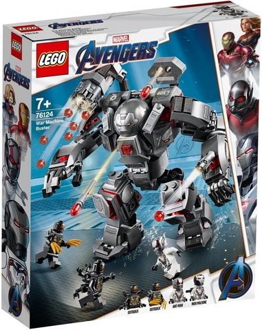 LEGO Super Heroes: Воитель 76124 — War Machine Buster  — Лего Супергерои Марвел