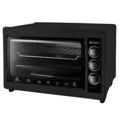 Мини печь | Духовка электрическая 1300 Вт 37 л DELTA D-0123 черная