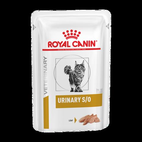 Royal Canin Urinary S/O Консервы для кошек при заболеваниях дистального отдела мочевыделительной системы, паштет