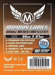 Протекторы Mayday: 63.5*88 MM (Orange Backed) (80)
