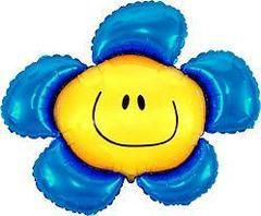F Фигура, Цветочек (солнечная улыбка) синий, 41
