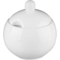 Сахарница Wilmax фарфоровая белая 325 мл (артикул производителя WL-995001)