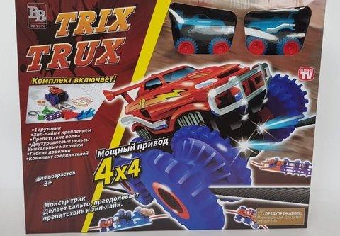 Trix Trux - Средний набор - 2 машинки