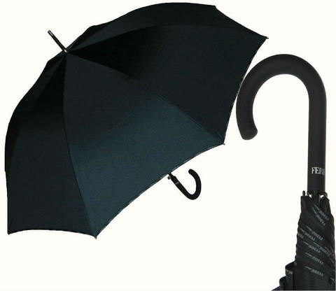 Зонт-трость Ferre GF-LA3015-Nero piping