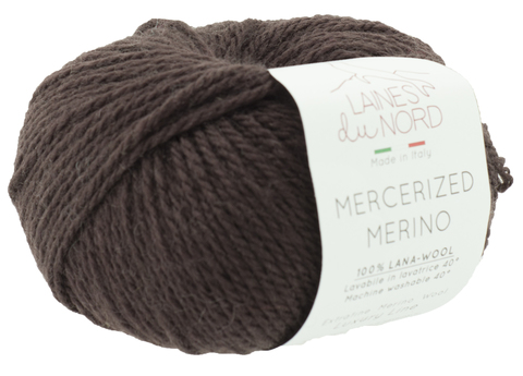 Пряжа Mercerized Merino (Мерсеризед Мерино). Коричневый. Артикул: 6
