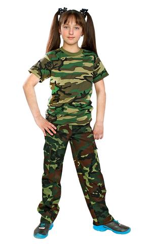 Брюки военно-полевые детские КМФ