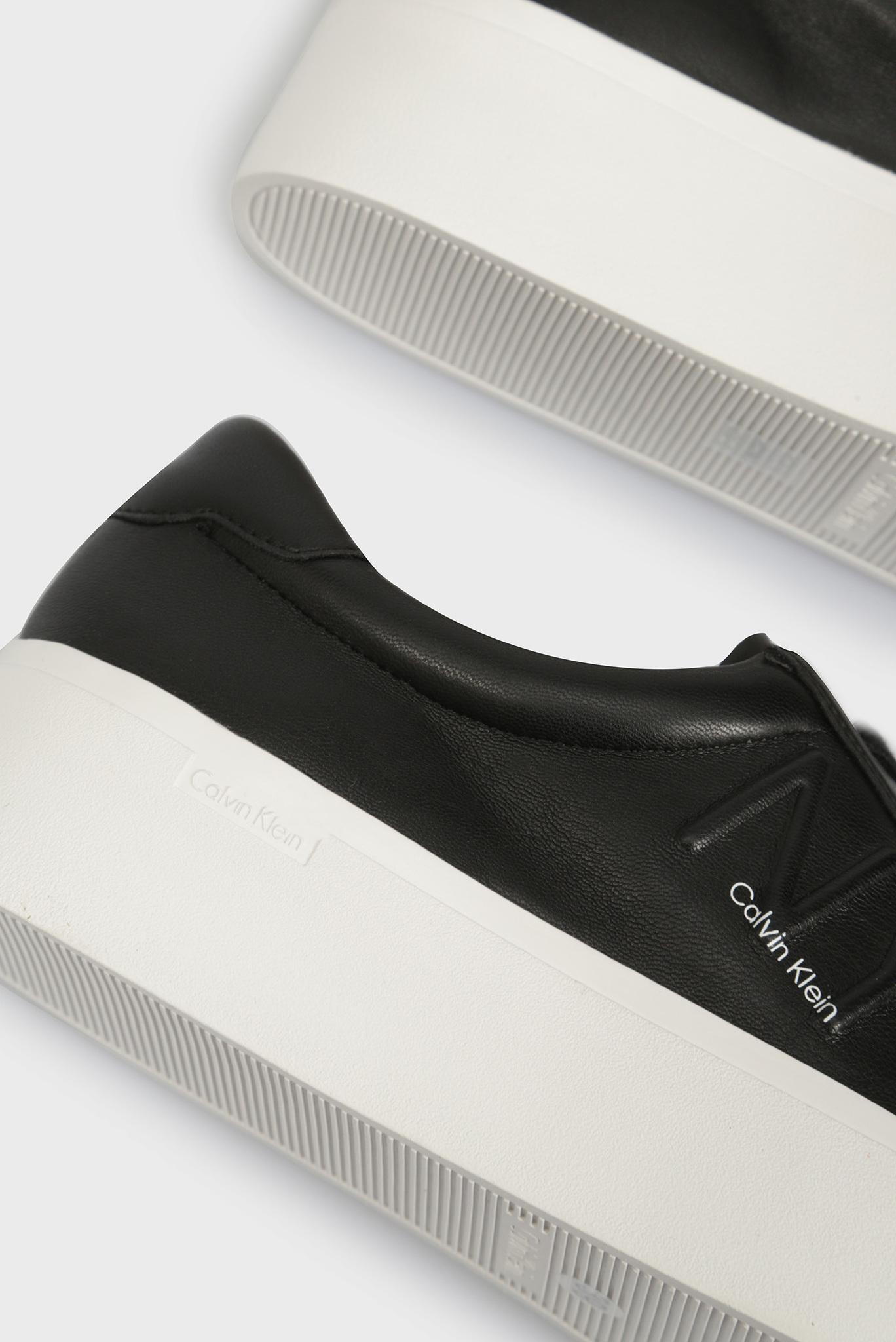 Женские черные сникеры JAMELLA Calvin Klein
