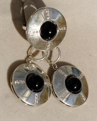 Намака(кольцо + серьги из серебра)