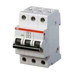 Автоматический выключатель АВВ 3/80А S283 С80 6КА