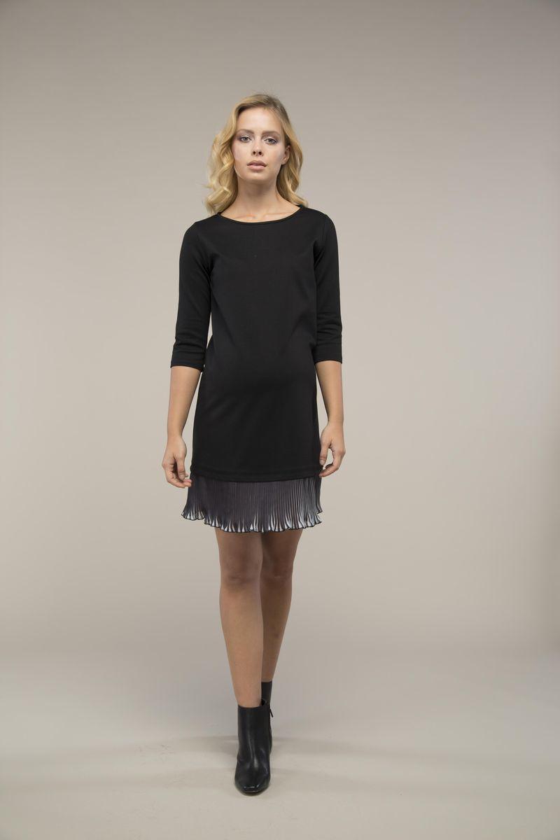 Платье для беременных 09020 черный