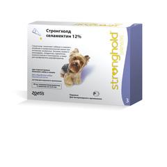 Stronghold инсектоакарицидные капли для собак 2,5-5 кг 0,25мл*3 пипетки (фиолетовый)