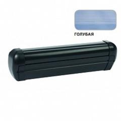 Маркиза настенная с мех.приводом DOMETIC Premium DA2047, цв.корп.-черный, ткани-голубой, Ш=4,74м