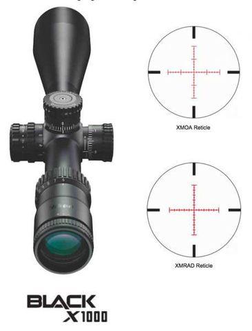 Nikon BLACK X1000 4-16x50SF Matte Illuminated X-MRAD