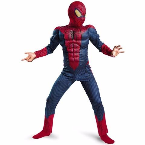 Человек паук костюм детский с мускулами