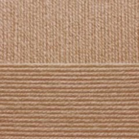 Купить Пряжа Пехорка Кроссбред Бразилии Код цвета 431-Бежевый меланж | Интернет-магазин пряжи «Пряха»