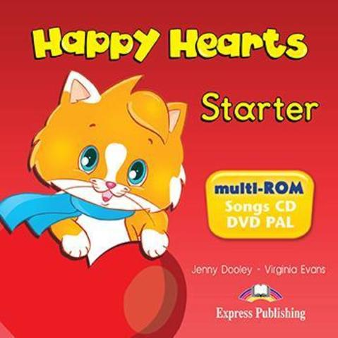 Happy Hearts Starter. Multi-Rom. Аудио и видео материалы к учебнику