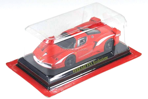 Ferrari FXX Evoluzione 2007 red 1:43 Eaglemoss Ferrari Collection #69