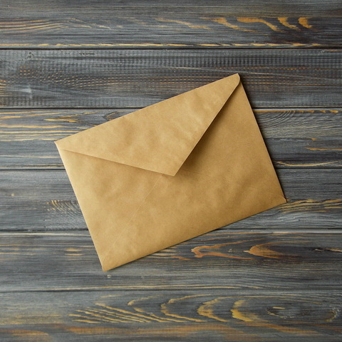Крафт-конверт С5 (162*229мм) треугольный клапан